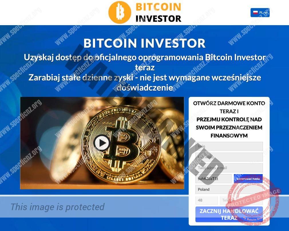 Bitcoin Investor Platforma