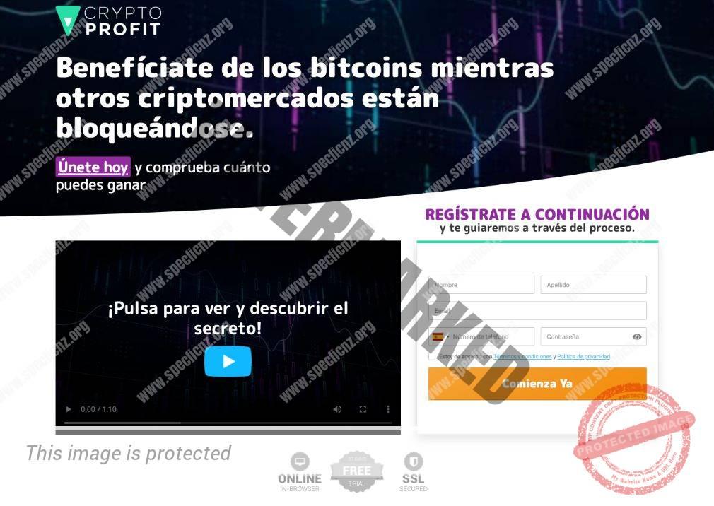 Crypto Profit ¿Broker Confiable y Seguro?