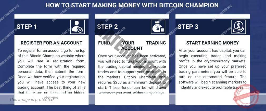 Bitcoin Champion aprire un account