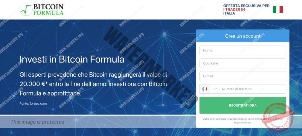 Bitcoin Formula Recensioni