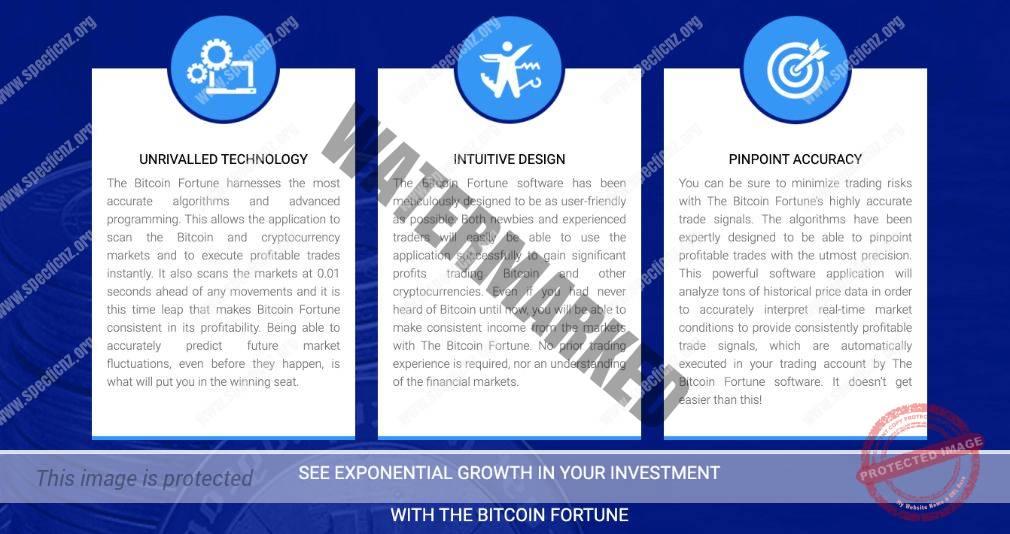 Bitcoin Fortune benefici
