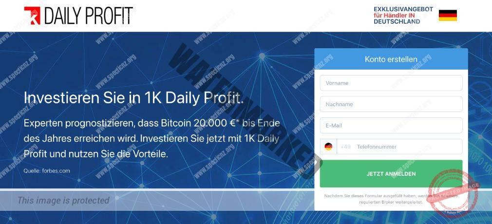 1k Daily Profit Erfahrungen