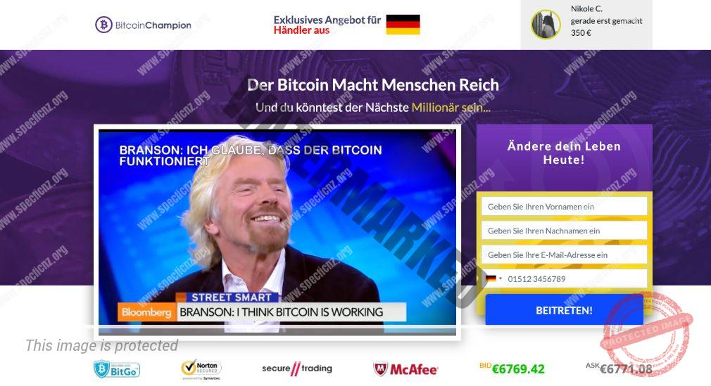 Bitcoin Champion Erfahrungen