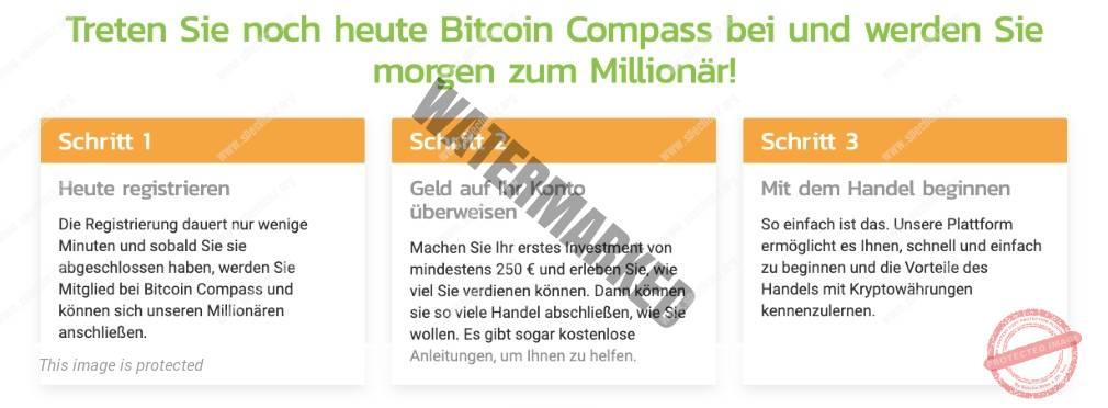 Bitcoin Compass Konto eröffnen