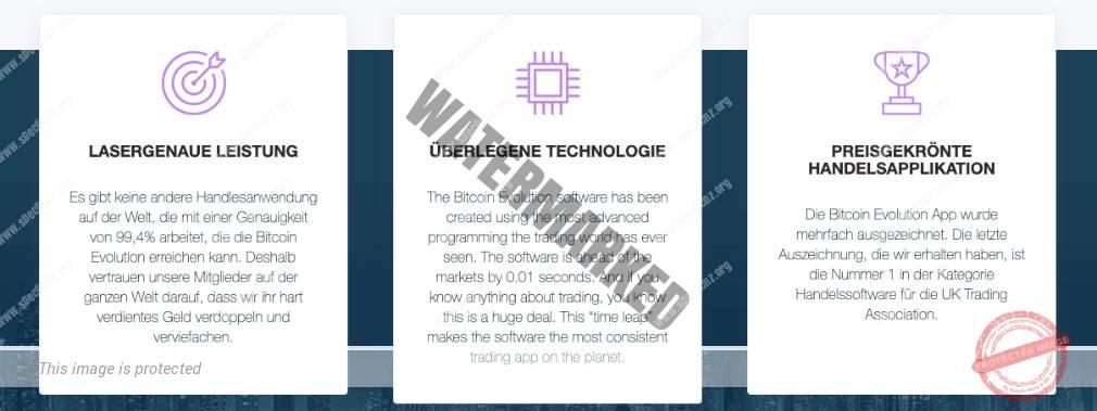 Bitcoin Evolution Eigenschaften