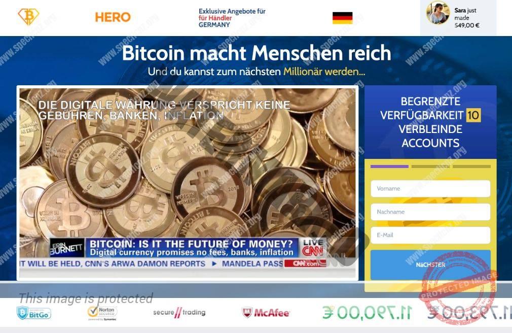 Bitcoin Hero Betrug