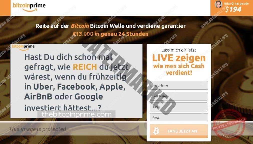 Bitcoin Prime Erfahrungen
