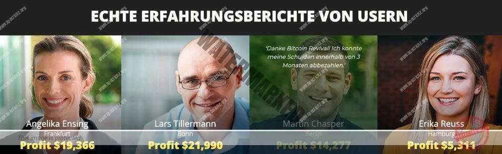 Bitcoin Revival Mitglieder