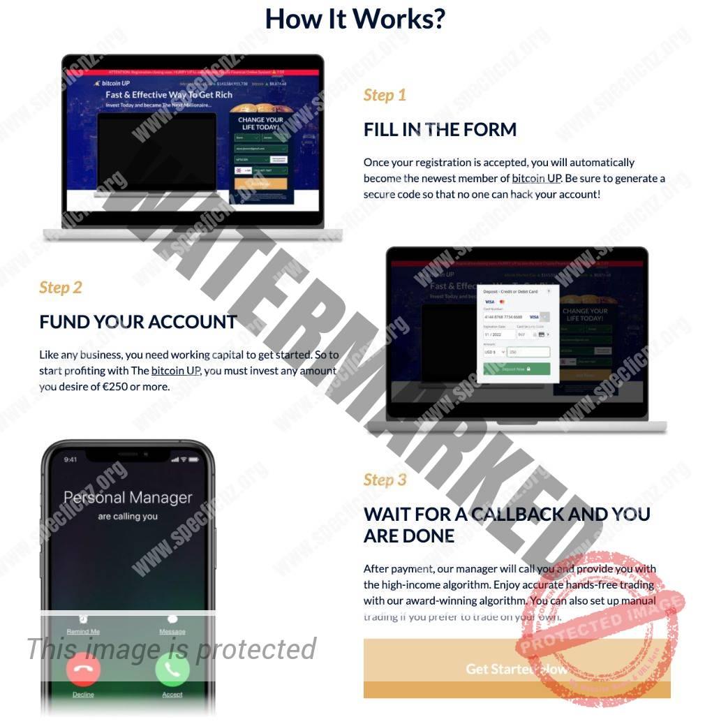 Bitcoin UP mobile Geräte
