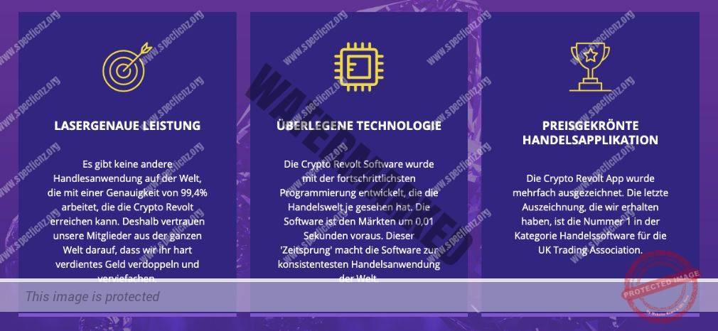 Crypto Revolt Eigenschaften