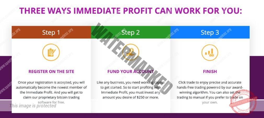 Immediate Profit how to start