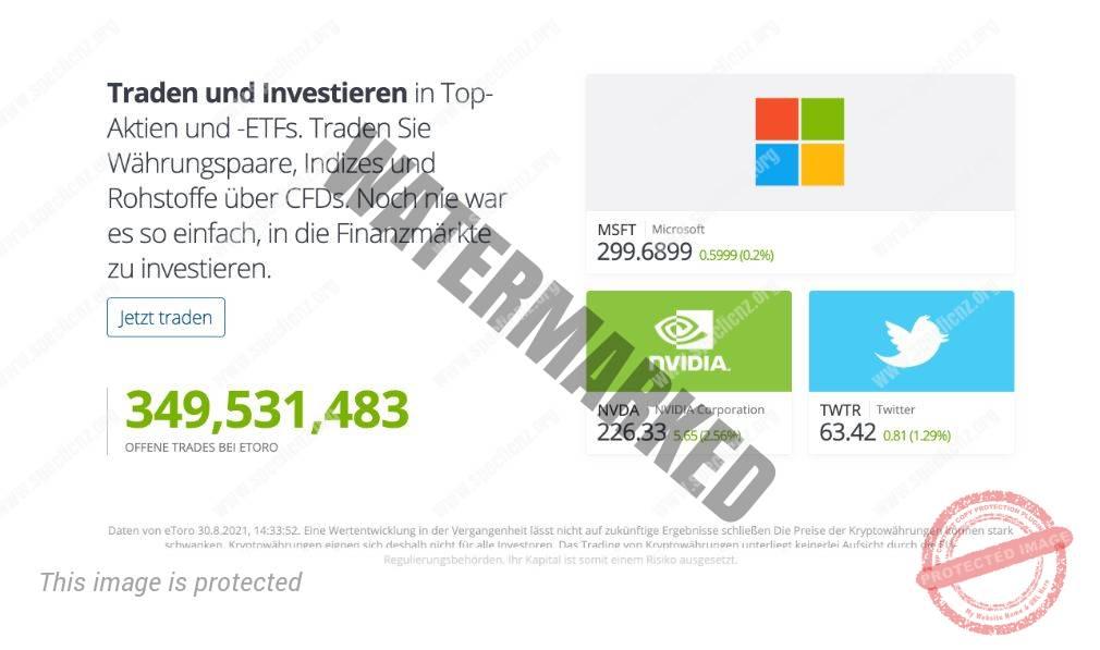eToro traden und investieren